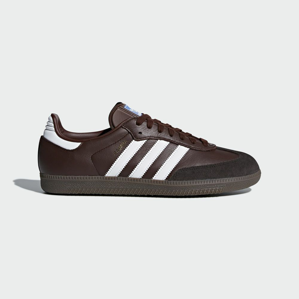 the best attitude 9fdfa 152a3 adidas samba marron
