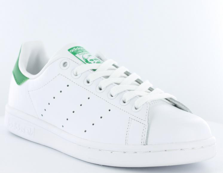 stan smith adidas blanc et vert ck femme