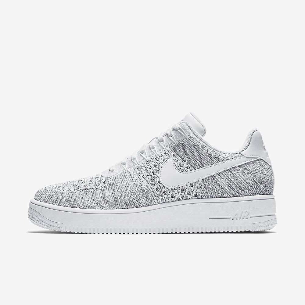 Nike Air Force 1 Ultra Flyknit Low White 817419 101