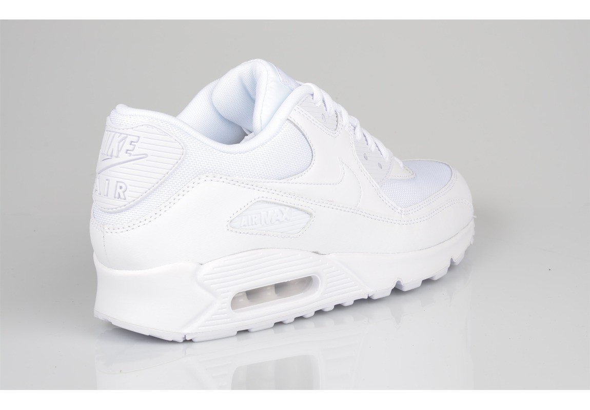 basket homme nike aire max cuir blanc