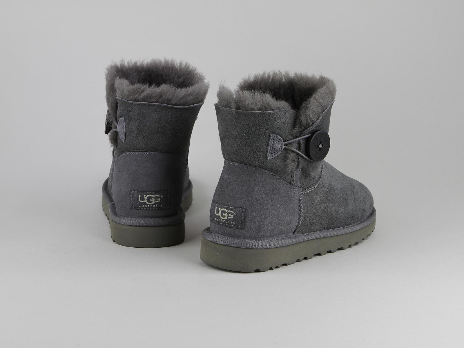 ugg bottes femme gris